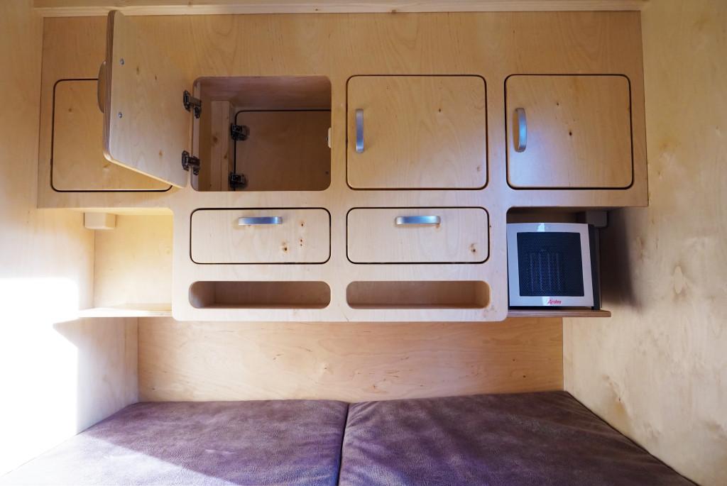 Wohnwagen Mit Außenküche : Mini wohnwagen wanderer66